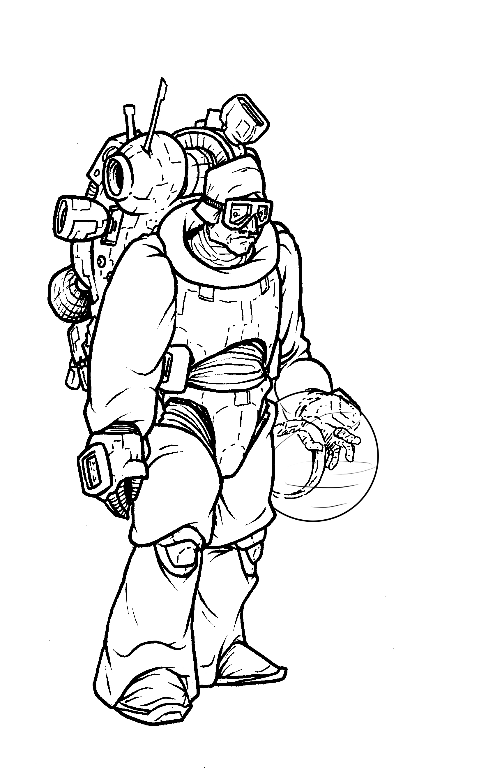 space suit drawing - photo #26