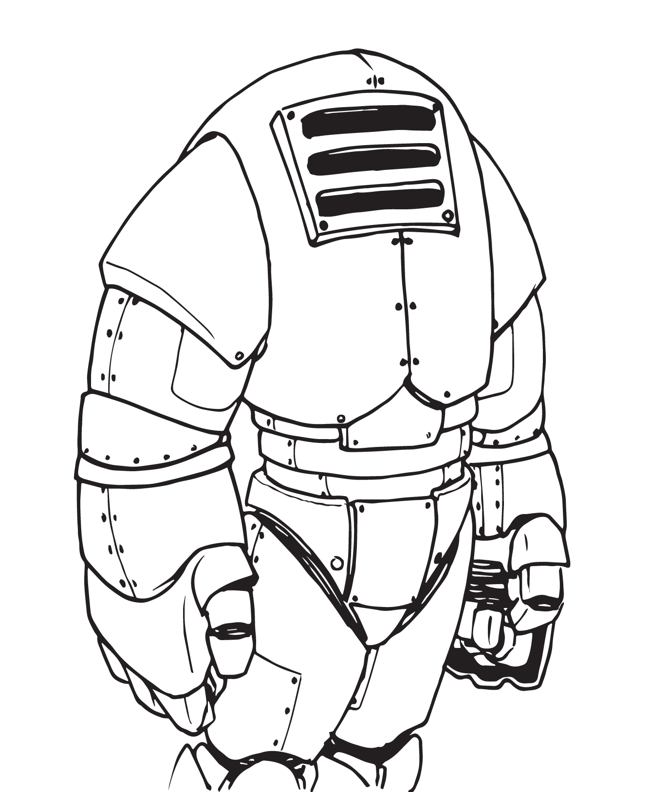 space suit drawing - photo #8