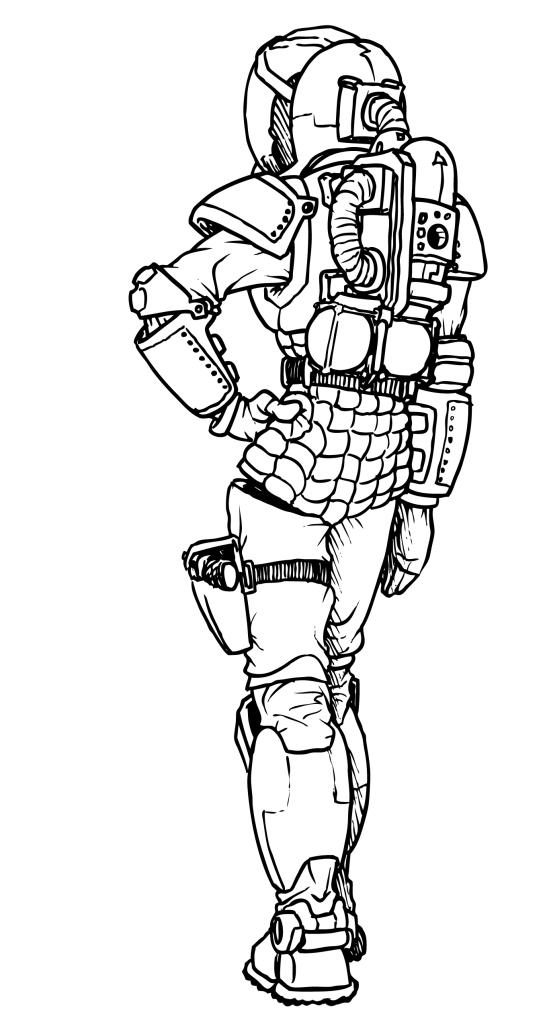 Spacesuit 3